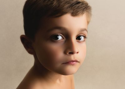 close up picture of older boy
